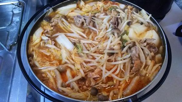 キムチ鍋 (5)