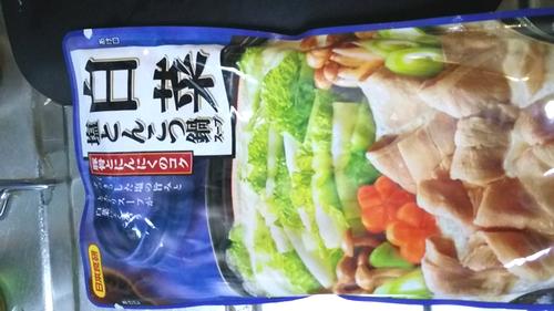 白菜塩とんこつ鍋 (1)