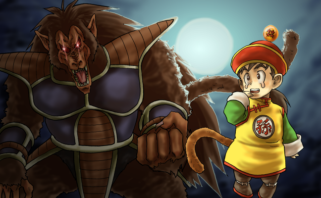 大猿と子猿改