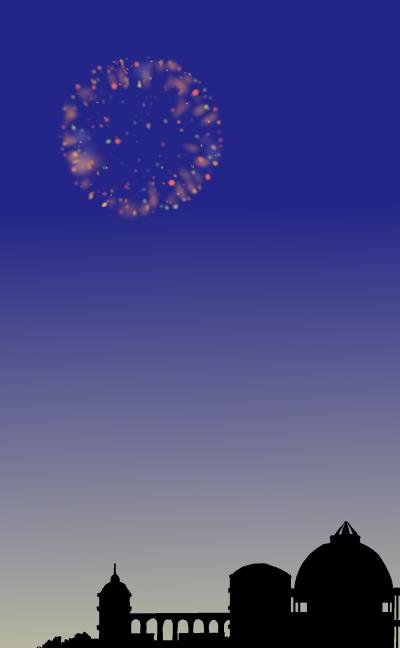 魔法界の夏祭り!花火よ、たかくあがれ!1改