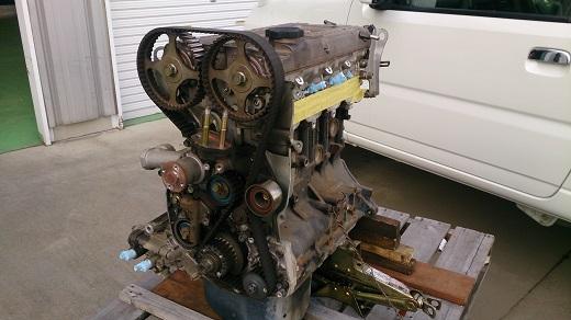 ランサーエボリューションエンジン