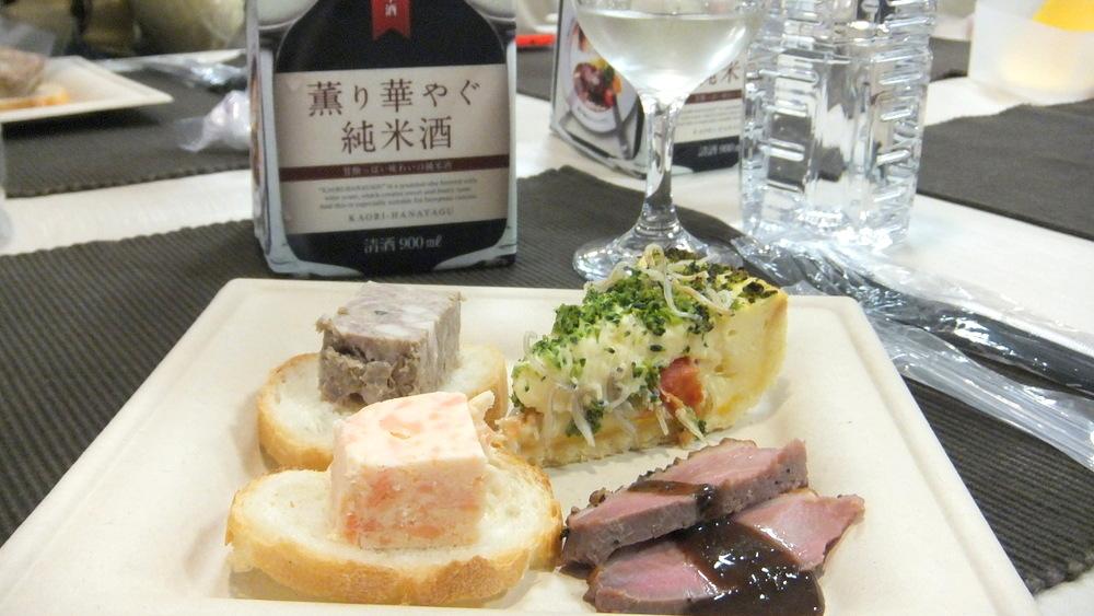 薫り華やぐ純米酒07