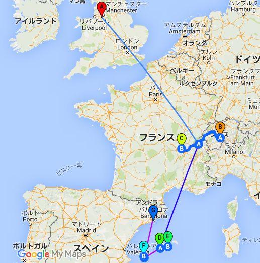 ノリ乗り自作旅 2016 夏旅 ヨーロッパ