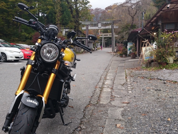 XSR900@古峯神社