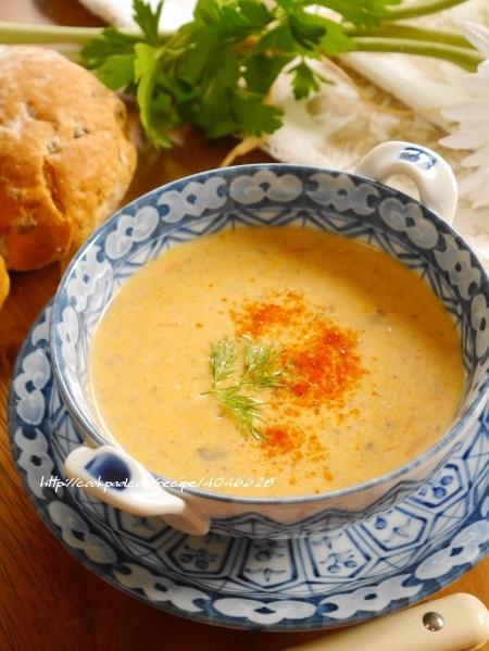 海老ビスクスープ