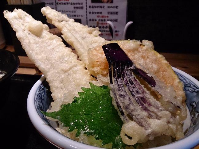 穴子天丼(1)