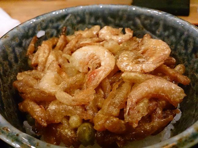 かきあげ丼(1)