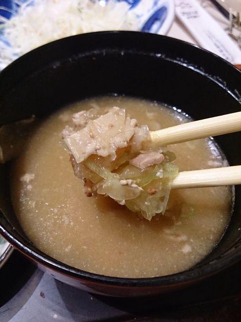 豚汁(1)