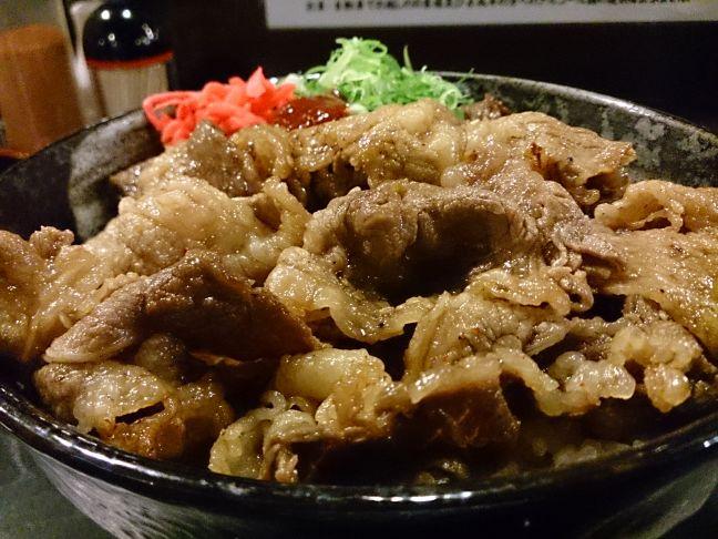カルビ丼(1)