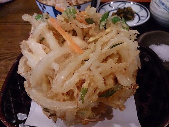 かきあげ(1)