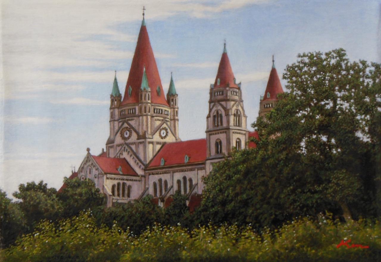 サムホール「ドナウの教会」