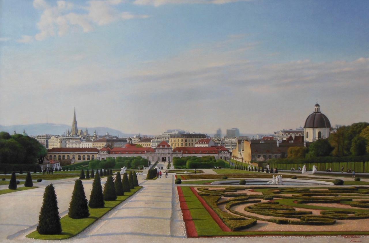 M30号「都市の眺望(カナレットに捧ぐ)」
