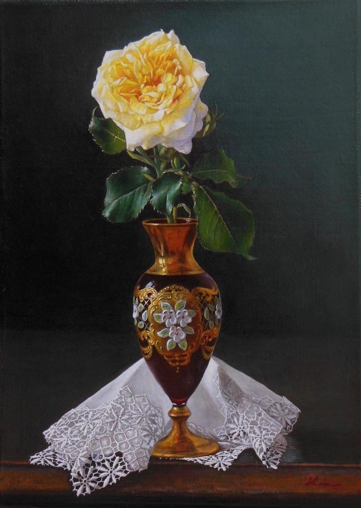 F4号題名「ヴェネツィアの薔薇」