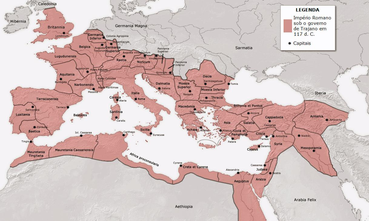 Roman Empire 117 dC