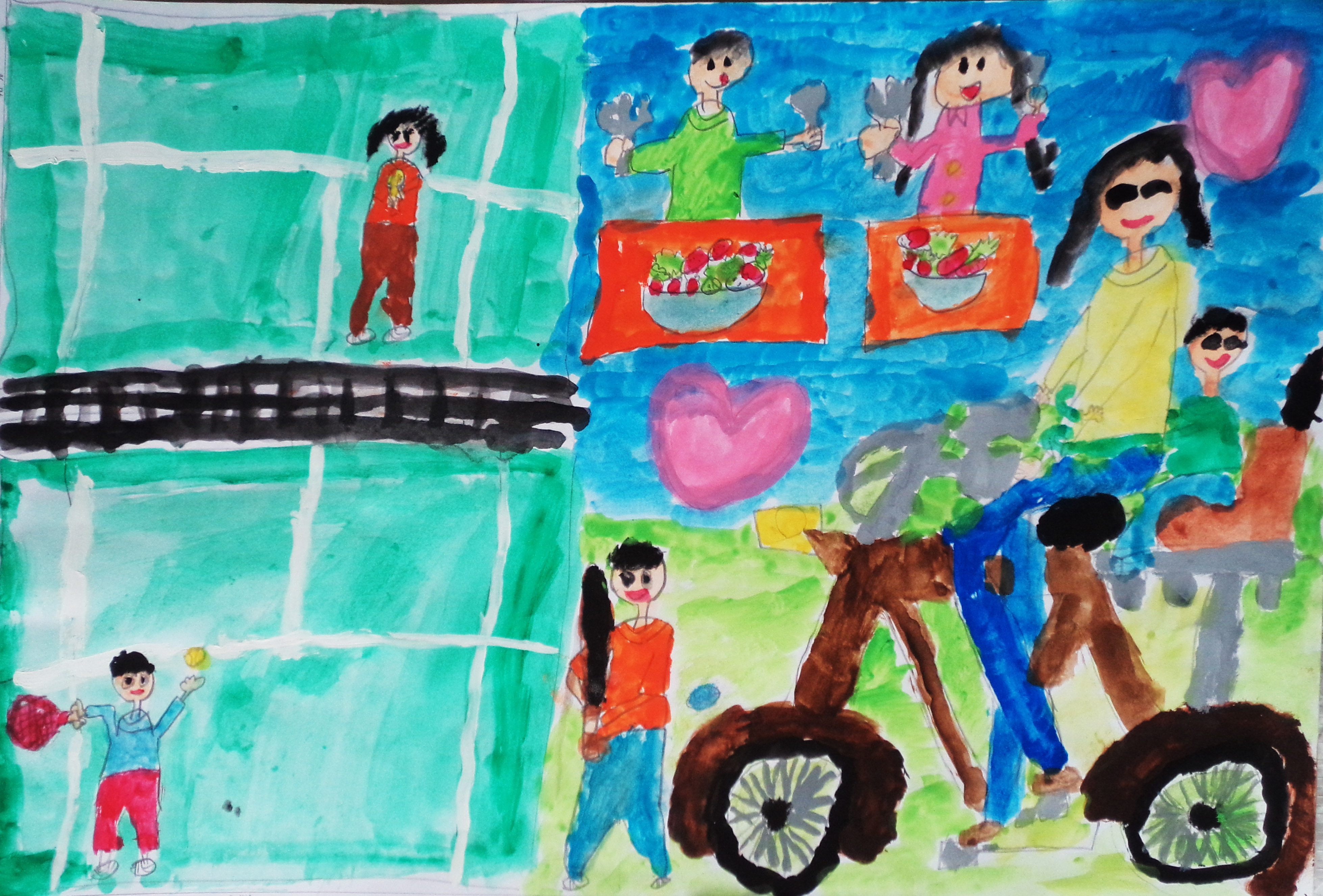 2015子供絵画コンクール