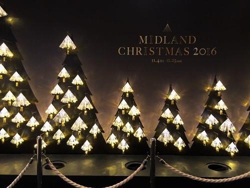 クリスマス ミッドランドスクエア