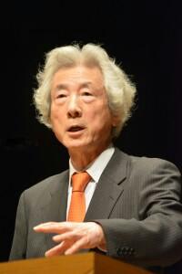 小泉純一郎 【日本は原発テロで壊滅する】日本の原発は世界一テロに弱い!世界の人はみんな言っていますよ
