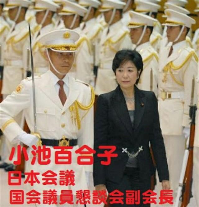 都知事選、小池百合子は日本会議!戦争、徴兵、改憲、原発推進の反社会的存在、庶民生活破壊!憲法破壊が