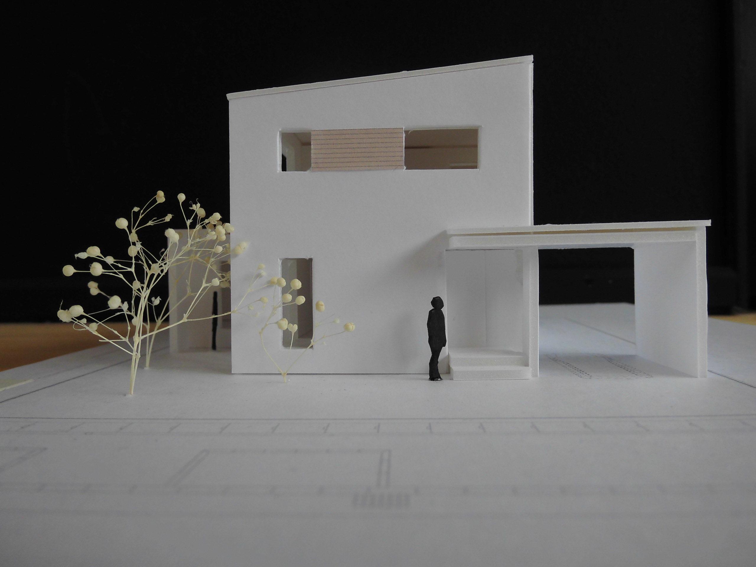 西川様邸模型01