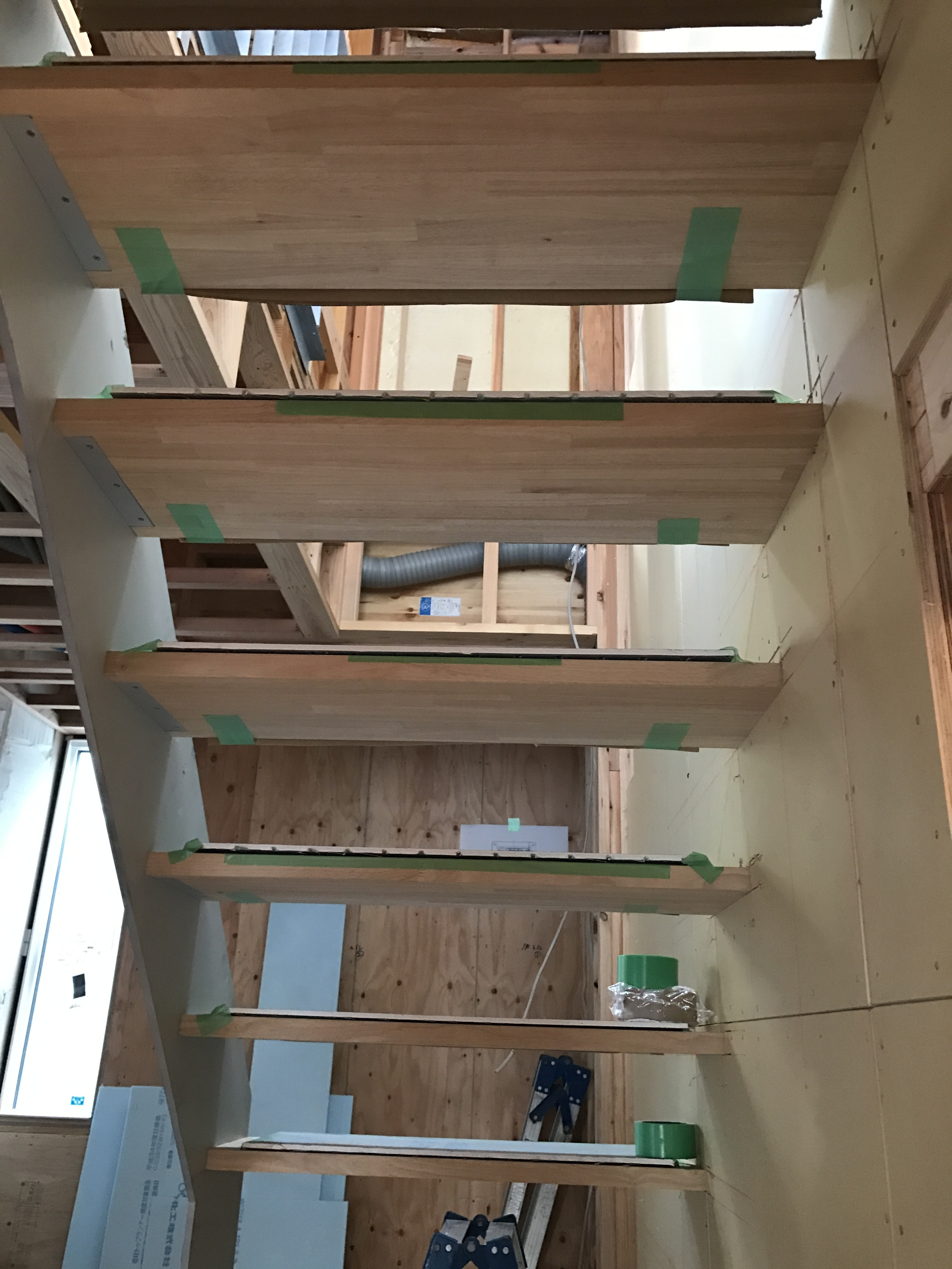 鉄骨階段2