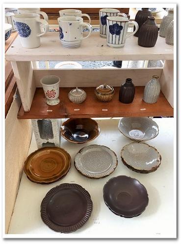 益子焼 春の陶器市