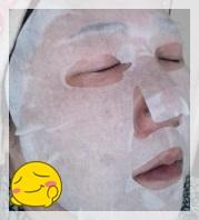 ルルルン クリームマスク マスクパック中