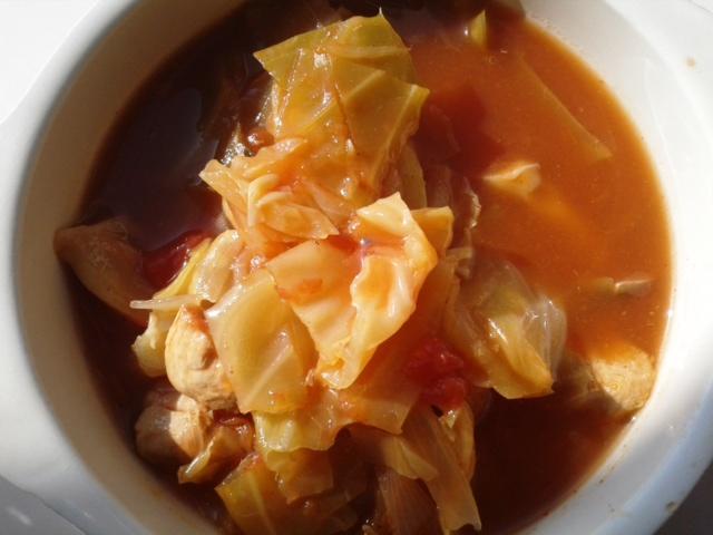 トマトスープ 出来上がり