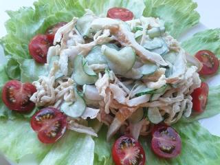 切り干し大根サラダ 1