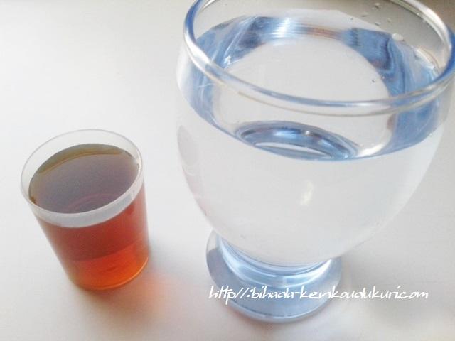 お嬢様酵素 液と水 201606