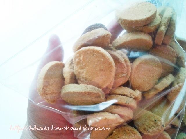 豆乳おからクッキー 詰め替え後
