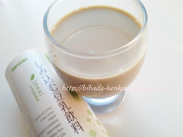 しみ込む豆乳 抹茶 コップ入り 201610