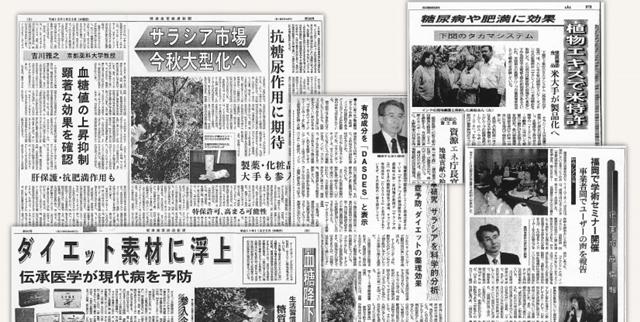 ハイサラシアティー 新聞記事