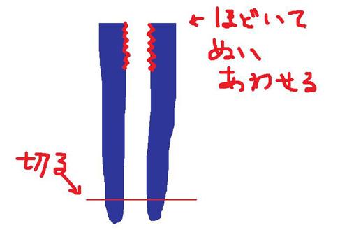 ズボンの作り方