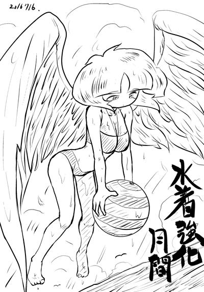 2016年7月16日羽根子さん水着