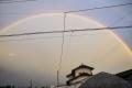 台風後の虹_全景