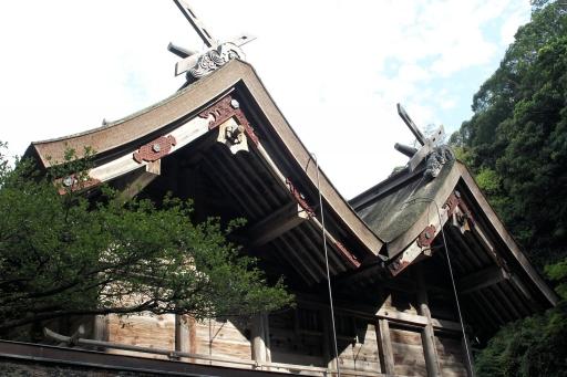 美保神社の本殿1