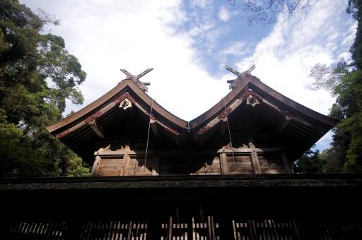 美保神社の本殿2