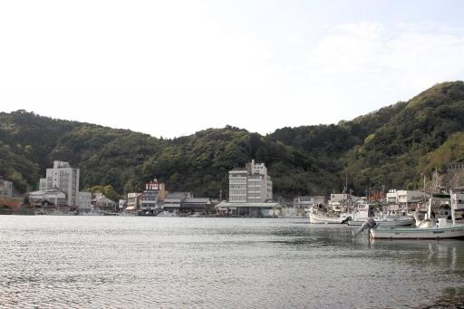 美保関の港