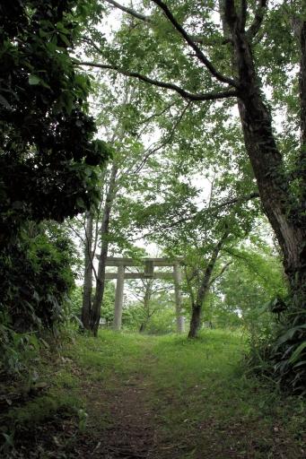 比婆山久米神社奥宮の大鳥居