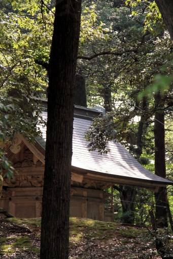 布自伎美神社本殿