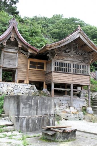恵比寿神社のアップ