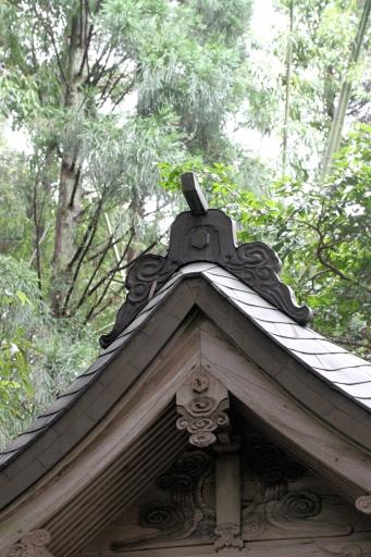 赤猪岩神社本殿