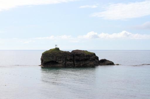 白兎海岸の於岐の島