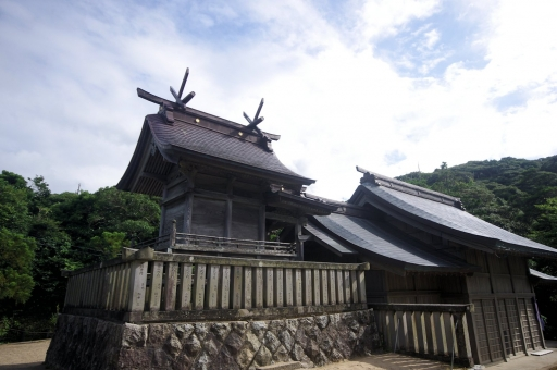 白兎神社本殿