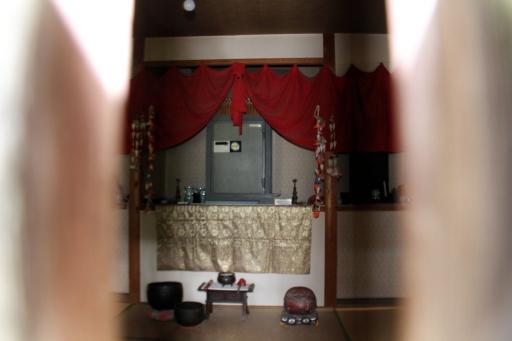 保元寺のお堂中