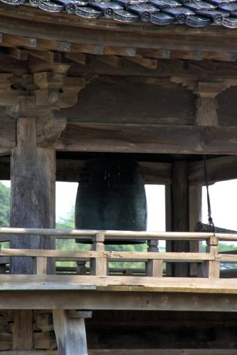 天倫寺鐘楼の朝鮮鐘