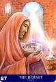 Aura-Soma Tarot Card 87 The Hermit(隠者)