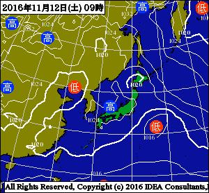天気図12日
