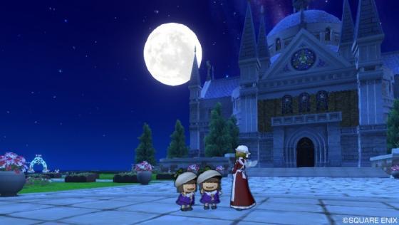 216月夜の教会