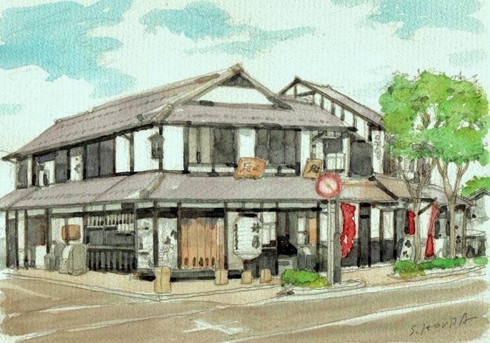 彦根の街角  (700x490)